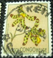 Belgian Congo 1952 Flowers Ansellia 2f - Used - Congo Belge