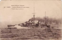 MARINE MILITAIRE FRANCAISE /  Cuirasse D'Escadre De 23500 Tonnes - Guerra