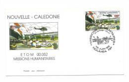 FDC Nouvelle Calédonie - Missions Humanitaires - Obl Du 18/06/99 (1er Jour) - Neukaledonien