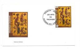 FDC Nouvelle Calédonie - Les Arts Du Pacifique - Obl 03/11/97 (1er Jour) - New Caledonia