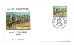 FDC Nouvelle Calédonie - Un Siècle De Présence Arabe - Obl  Du 04/09/98 (1er Jour) - New Caledonia