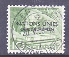 Switzerland 7 O 2  (o)  UNITED NATIONS - Dienstzegels