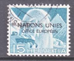 Switzerland 7 O 3  (o)  UNITED NATIONS - Dienstzegels