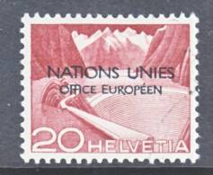 Switzerland 7 O 4  (o)  UNITED NATIONS - Dienstzegels