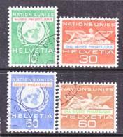 Switzerland 7 O 34-7   (o)  UNITED NATIONS - Dienstzegels