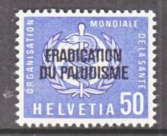 Switzerland 5 O 35   **    WHO   ORG. MONDIALE De La  SANTE - Officials