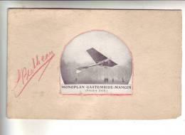 MONOPLAN GASTEMBIDE-MANGIN  ( Février 1908) - Découpis