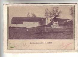 Le Nouveau Monoplan H.FARMAN - Découpis