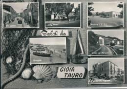 ITALIA SALUTI DA GIOIA TAURO  RARE PHOTO - Reggio Calabria