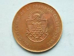 Peru / CONCEJO PROVINCIAL DEL CALLAO 1857 / 1957 ( 22 De ABRIL ) 1er CENTENARIO De La Prov. ( 5.6 Gram / 27 Mm.) ! - Non Classificati