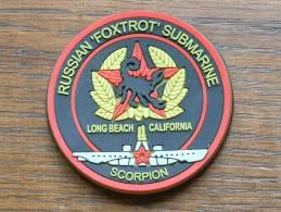 "RUSSIAN "" FOXTROT "" SUBMARINE Long Beach California "" SCORPION "" ( Caoutchouc / 65 Mm.- 27 Gr. / Magnetic ) ! - Magnets"