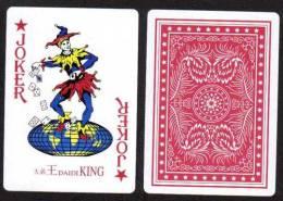 #030 Carta Mundi 1 Playing Card Joker Jeu De Cartes - Speelkaarten