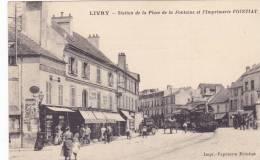 Livry Station Gare Locomotive Imprimerie Fointiat TOP !!!!!!!!!!!!!!!!!!! - Livry Gargan