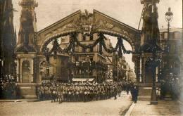 ROUEN - RETOUR DU  39° ET 74° REGIMENT D´INFANTERIE. - CARTE PHOTO WW1 - Rouen