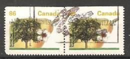 Canada  1992  Definitives Trees: Bartlett Pear   (o)  P. 14.5 X 14 - Carnets