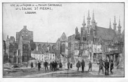 LEUVEN - LOUVAIN - WW1 - EGLISE ST-PIERRE - Leuven