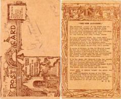 Glenwood Mission Inn Riverside - California - CPA Carton Imitation Cuir (53561) - Etats-Unis
