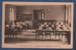 37 INDRE ET LOIRE - CP LA MEMBROLLE ( SUR CHOISILLE ) - SANATORIUM DE BEL AIR - LE REFECTOIRE - Cl. E. C. - N°8 ROY EDIT - Otros Municipios