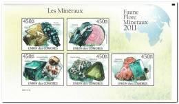 Comoren 2011 Postfris MNH Minerals - Comoren (1975-...)