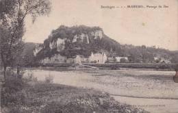 CPA - 24 - DORDOGNE - MAREUIL -Passage Du Bac - Andere Gemeenten