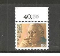 DSP2275/ BRDMi.Nr.1308**/ (1987) L. Erhardt, Mit Oberrand - BRD