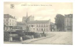 CINEY - Le Pont St Roch Et L'entrée De La Ville  (Y260)o3 - Ciney