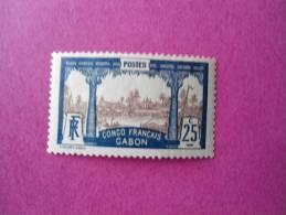 Gabon Poste Neuf ** N° 39 ( Lot 43 ) - Gabon (1886-1936)
