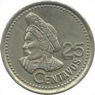 Guatemala - 25 Centavos - 1993 - KM 278.5- Vz - Guatemala