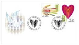 ONU Vienne 2013 - Definitives - FDC Combo - Fortes Valeurs - FDC
