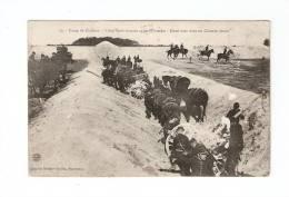 CPA : 51 : Camp De Châlons : Artillerie Montée Et Obstacles : Demi Tour Dans Chemin Etroit : Attelages - Manoeuvres