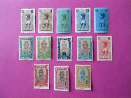 Gabon Poste Neuf * 13 Timbres  ( Lot 58 ) - Gabon (1886-1936)