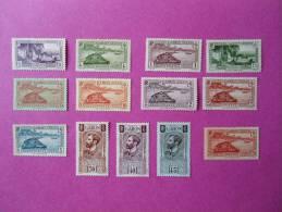 Gabon Poste Neuf * 13 Timbres  ( Lot 59 ) - Gabon (1886-1936)