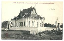 Indochine Cambodge Phnom-Penh Pagode Du Chef Suprême Des Bonzes. - Cambodge