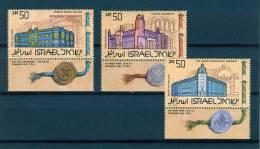 Israel - 1986, Michel/Philex No. : 1034/1035/1036, - MNH - *** - - Ongebruikt (met Tabs)
