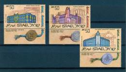 Israel - 1986, Michel/Philex No. : 1034/1035/1036, - MNH - *** - - Neufs (avec Tabs)