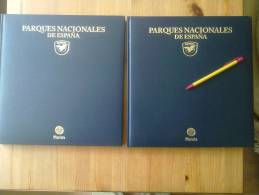 2 GRANDES LIBROS PARQUES NATURALES DE ESPAÑA NATURALEZA Y FOTOGRAFIAS.2 TOMOS / ED. PLANETA,PROTECSA.AÑO 1997.BELLISIMAS - Cultura