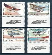 Israel - 1985, Michel/Philex No. : 990-993, - MNH - *** - - Ongebruikt (met Tabs)