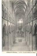 Amiens (Somme) - La Cathedrale - La Nef - Vue De La Tribune De L'Orgue - Amiens