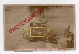 LIEGE-LÜTTICH-VOITURE A PEDALES-ENFANT-RECLAME-CARTE PHOTO-Pl.St.LAMBERT-BELGIEN-BELGIQUE-1928 - Liege