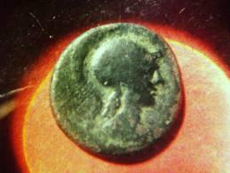 AKARNANIA AE Bronze LEUKAS Athena Kopf / Pegasos - Griechische Münzen