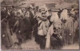 BELGIQUE :  BRUXELLES:1909:Funérailles De Léopold 2.Non écrite.Nombreux Personnages. - Funérailles