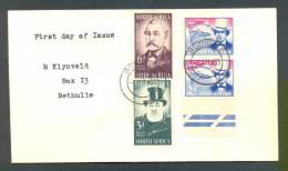Y/T Nr 215/218 Lettre Letter Brief 217+218 TOGETHER !!! - Non Classés