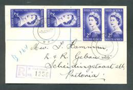 Y/T Nr 193 Lettre Letter Brief Elizabeth II Pretoria - Non Classés
