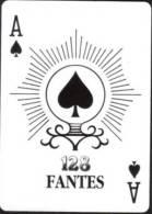 Gambling Poker Swap Playing Card Ace Of Spades #034 - Cartes à Jouer Classiques