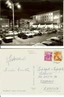 Francavilla Al Mare (Chieti): Piazzale Sirena (notturno). Cartolina B/n Anni ´50 Viaggiata 1965 Auto D´epoca Alfa Romeo - Chieti