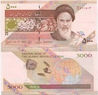 Iran 5000 Rials 2009 UNC P-150 - Iran