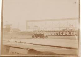 Photo Originale Juillet 1907 DIEPPE Circuit De La Seine Inférieur - Grand Prix De L´ACF - Une Automobile (A25) - Dieppe