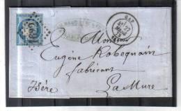 BLO574 FRANKREICH BRIEF Vom 26.März 1872 - 1871-1875 Ceres