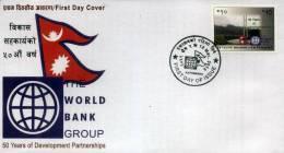 WORLD BANK NEPAL GOLDEN JUBILEE RS.10 FDC NEPAL 2013 MINT MNH - Altri