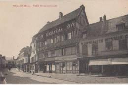 CPA 27 GAILLON Vieille Maison Normande Commerces 1926 - Unclassified